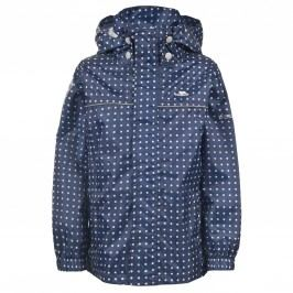 Trespass Dívčí nepromokavá bunda Enjoy - modrá