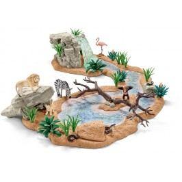 Schleich Zvířecí svět u vodopádu 42321