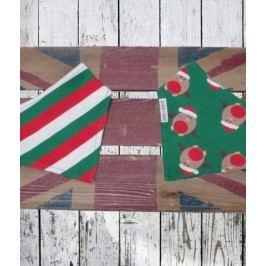 Blade & Rose Chlapecký šátek s ptáčky a proužky - zelený