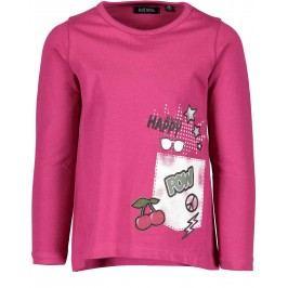 Blue Seven Dívčí tričko s potiskem - růžové