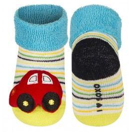 SOXO® Chlapecké ponožky s autíčkem - barevné