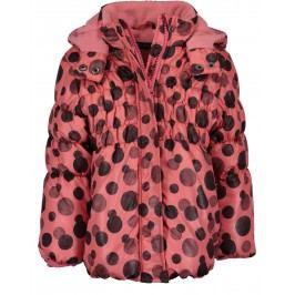 Blue Seven Dívčí zimní bunda - červená