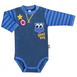 2be3 Chlapecké body Star - tmavě modré