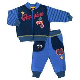 2be3 Chlapecký dvojkomplet Star - modrý