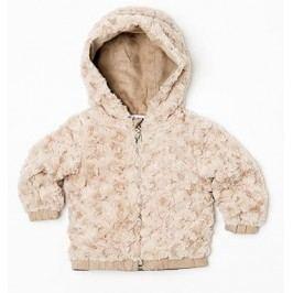 Minoti Dívčí chlupatá bunda Dusk - růžová