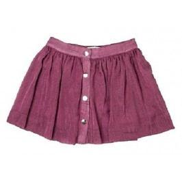 Minoti Dívčí skládaná sukně Rosewood - růžová