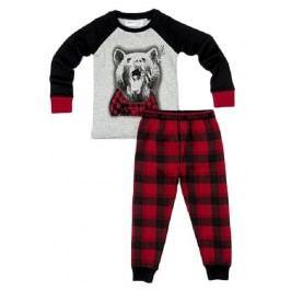 Minoti Chlapecké pyžamo s medvědem Snooze - barevné