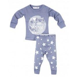 Minoti Dívčí pyžamo Moon Night - modré
