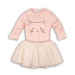 Minoti Dívčí dvojkomplet tutu sukně+body Rule - růžový