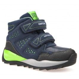 Geox Chlapecké zateplené boty Orizont  - tmavě modré