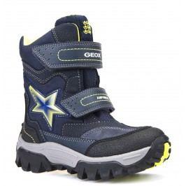 Geox Chlapecké zimní boty JR LT Himalaya - tmavě modré