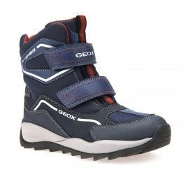 Geox Chlapecké zimní boty Orizont  - tmavě modré