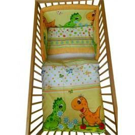Cosing 3dílná sada povlečení Comfort Dinosaurus 60x40 + 135x100 cm