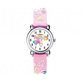 Cannibal Dívčí hodinky s obrázky - růžové