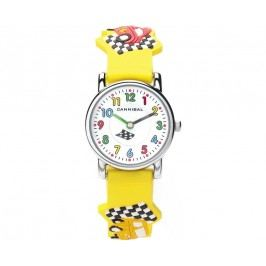 Cannibal Chlapecké hodinky s auty - žluté