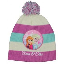 E plus M Dívčí čepice Frozen - barevná