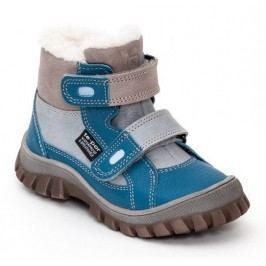 RAK Chlapecké zimní boty Siberia - modro-šedé