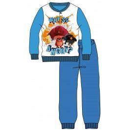 Disney by Arnetta Chlapecké pyžamo Angry Birds - světle modré