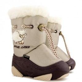 Demar Dětské sněhule Little Lamb A - béžové