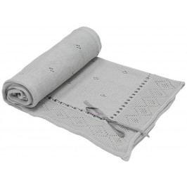 EKO Bavlněná deka Ribbon - šedá