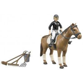 Bruder 62505 Jezdecký set kůň, žena a příslušenství