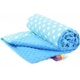 My Best Home Minky deka Plus 50x75 cm, puntini modrá-modrá