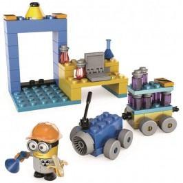 Mega Bloks Mimoňové laboratoř s vozidlem