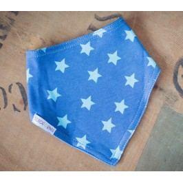 Blade & Rose Chlapecký šátek s hvězdičkami a puntíky - modrý