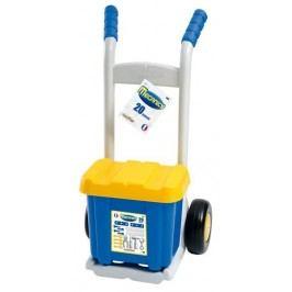 ECOIFFIER Rudl s boxem s nářadím 20 doplňků modro-šedý