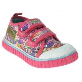 Beppi Dívčí plátěnky - růžové