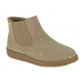 Beppi Dívčí kotníkové boty - béžové