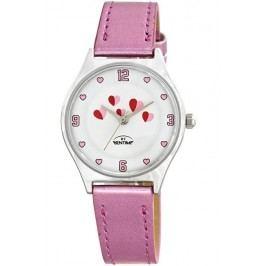 Bentime Dívčí hodinky se srdíčky - růžové