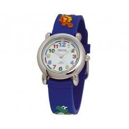 Secco Chlapecké hodinky se zvířátky - modré
