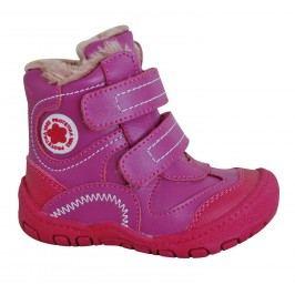 Protetika Dívčí zimní boty Derex - růžové