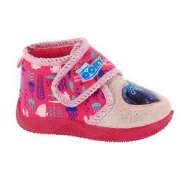 Disney by Arnetta Dívčí bačkůrky Hledá se Dory - růžové