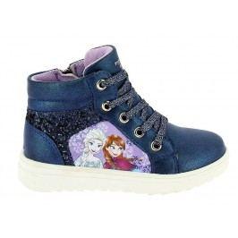 Disney by Arnetta Dívčí kotníkové tenisky Frozen - modré