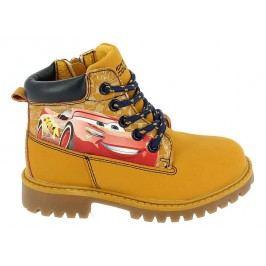 Disney by Arnetta Chlapecké kotníkové boty Cars - okrově žluté