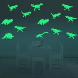 Walplus Svítící samolepka na zeď Dinosauři
