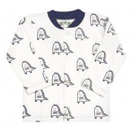 Nini Chlapecké tričko Dino - bílé