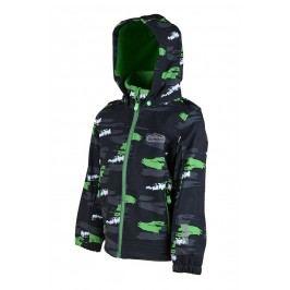 PIDILIDI Chlapecká softshellová bunda - tmavě šedá