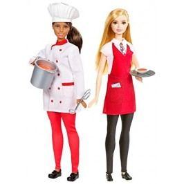 MATTEL Barbie s kamarádkou Šéfkuchařka a číšnice