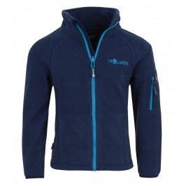 Trollkids Chlapecká fleecová bunda Arendal - modrá