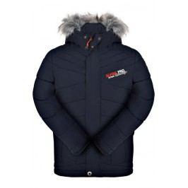 ALPINE PRO Chlapecká zimní bunda Icybo - modrá