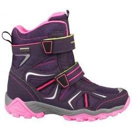 ALPINE PRO Dívčí zimní boty Hayley - fialové