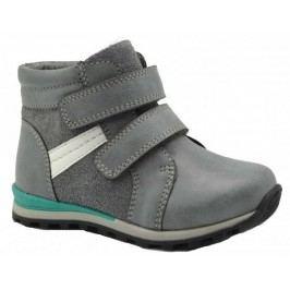 Bugga Chlapecké kotníkové boty - šedé