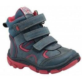 Bugga Dívčí zimní boty - modro-růžové