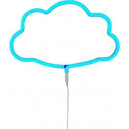 Little Lovely Company Neonové světýlko, mráček modrý