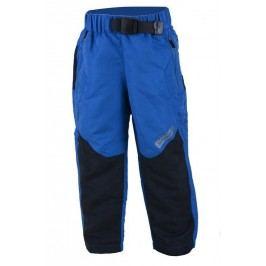 PIDILIDI Chlapecké outdoorové kalhoty s fleecem - modré