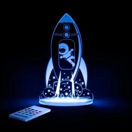 Aloka Noční světýlko Vesmírná raketa + ovladač pro volbu barev