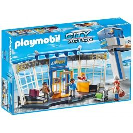 Playmobil Letiště s kontrolní věží